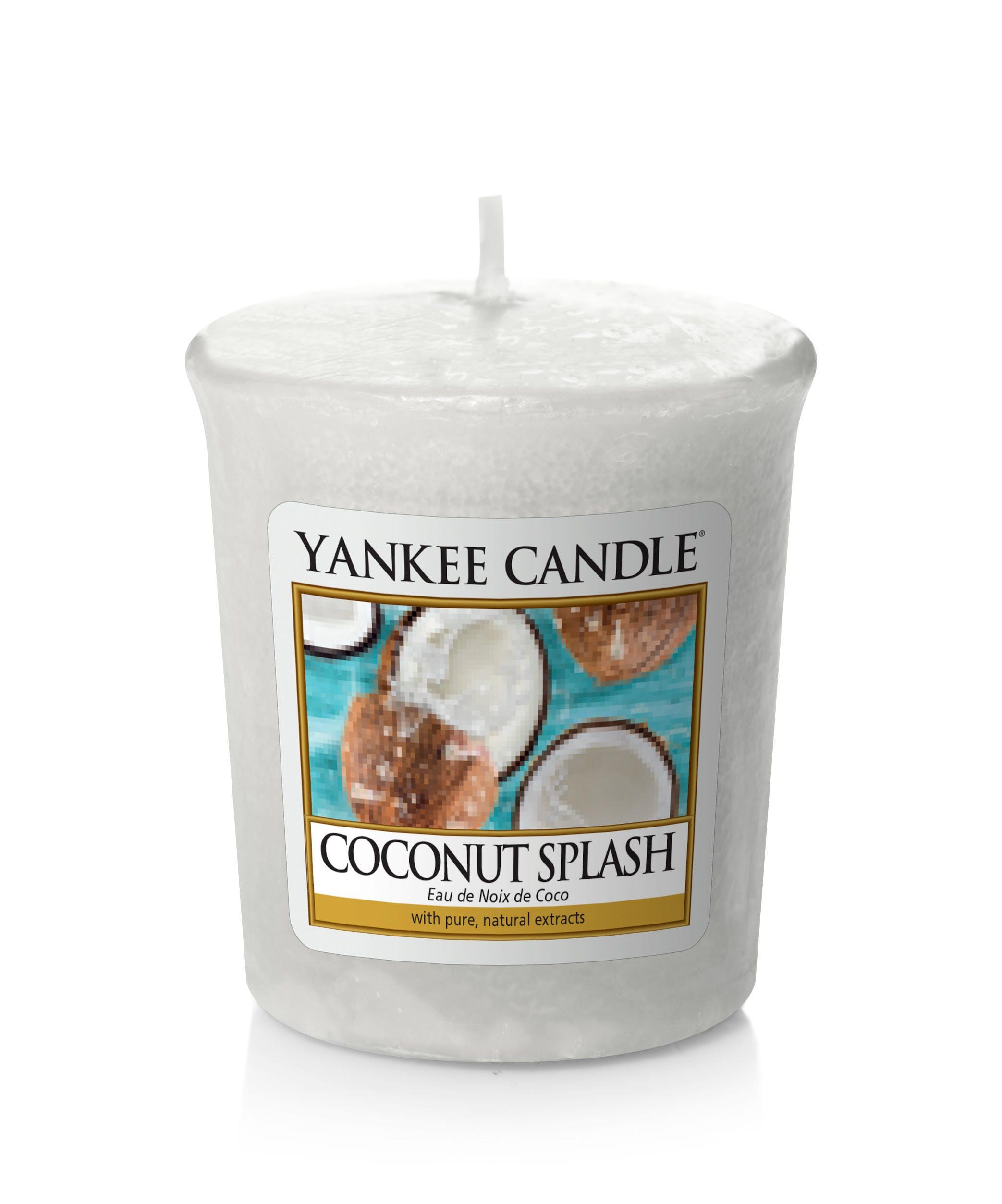 Eau de Coco bougie parfumée votive YANKEE CANDLE