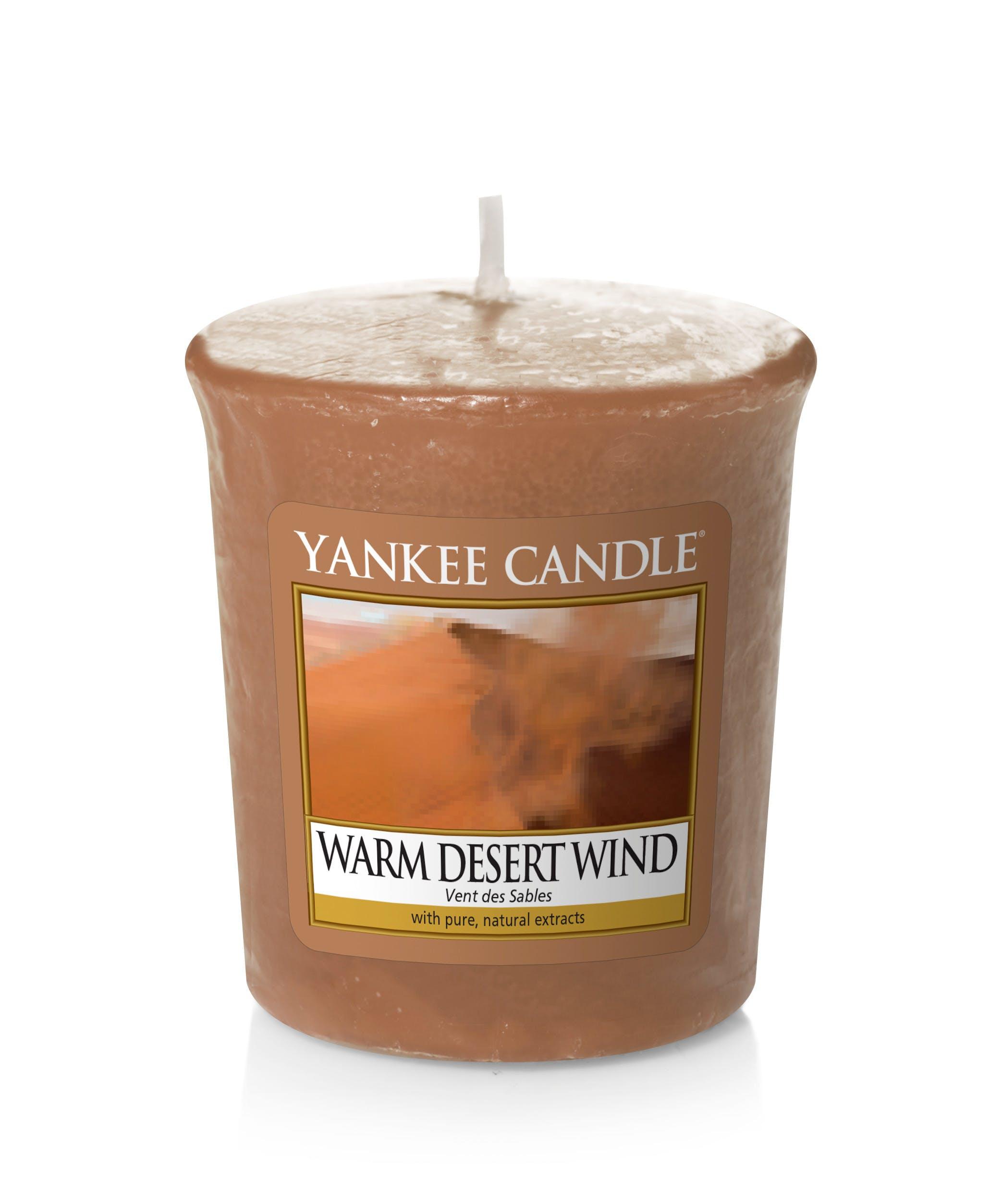 Vent des Sables bougie parfumée votive YANKEE CANDLE