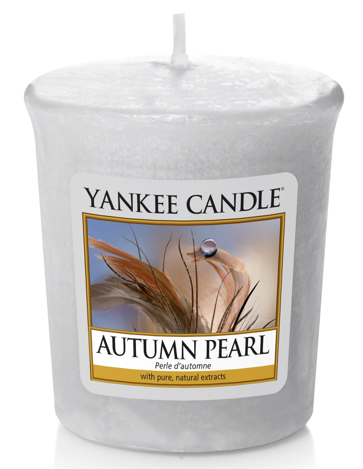 Bougie votive Yankee Candle perle d'automne réf. 30020898