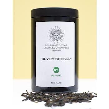 Thé vert bio Compagnie des Indes, Ceylan, réf. 30022331