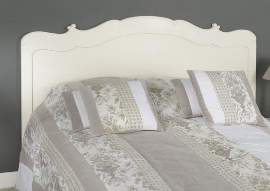 Tête de lit 160cm -  Acajou et MDF - Style romantique APOLLINE - AMADEUS