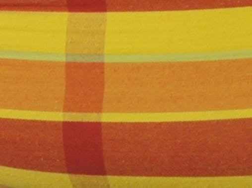 Hamac de jardin 2 places BARBADOS Papaya Orange jaune 230x150cm AMAZONAS