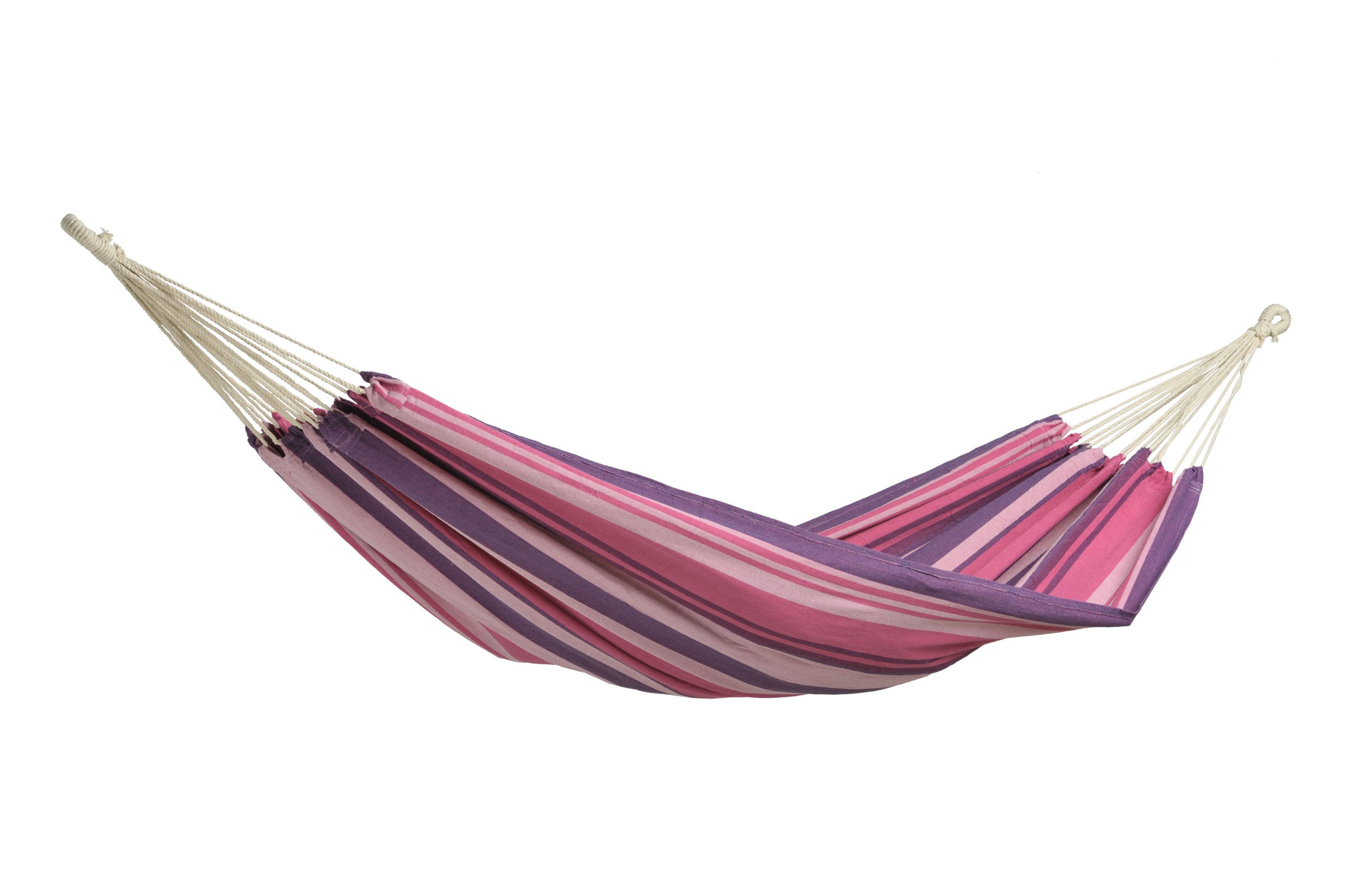 Hamac de jardin XL TAHITI Candy Rose violet 200x100cm AMAZONAS