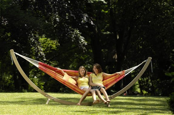 Support de hamac bois OLYMP 395x143x145cm AMAZONAS