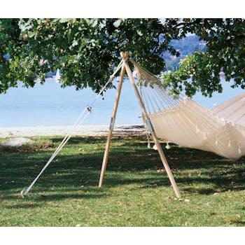 Pied de hamac en bois MADERA 165cm AMAZONAS