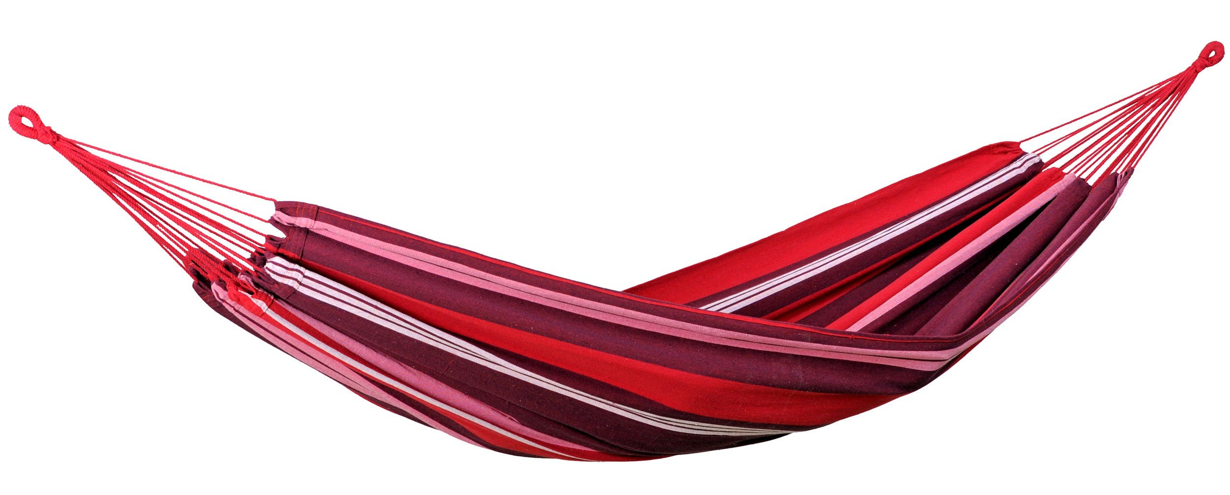 Hamac de jardin XL SALSA Fuego Rouge rose 210x140cm AMAZONAS