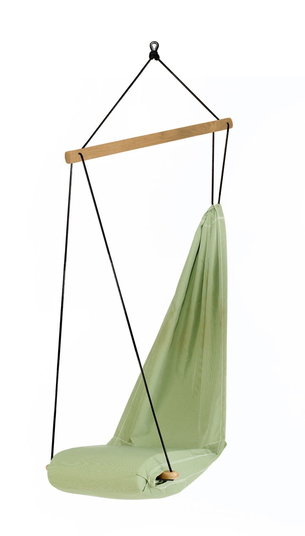 Hamac chaise suspendu HANGOVER Vert 63x50cm AMAZONAS