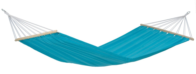Hamac de jardin XL MIAMI Aqua Bleu 220x120cm AMAZONAS