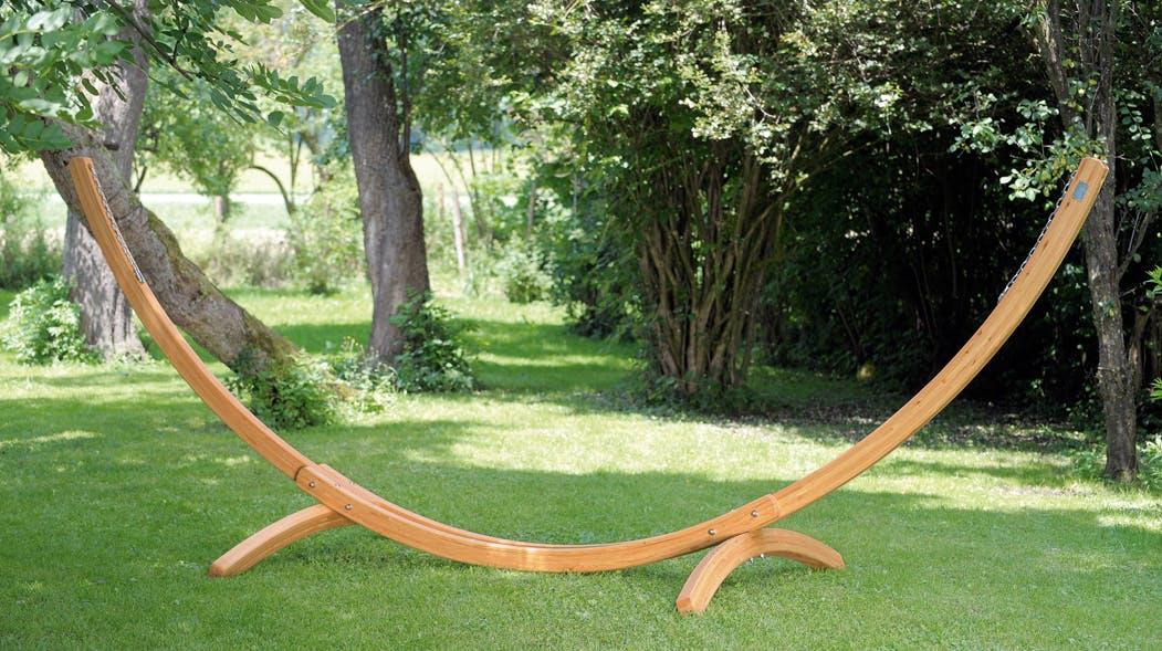 Support de hamac bois ARCUS 437x160x145cm AMAZONAS