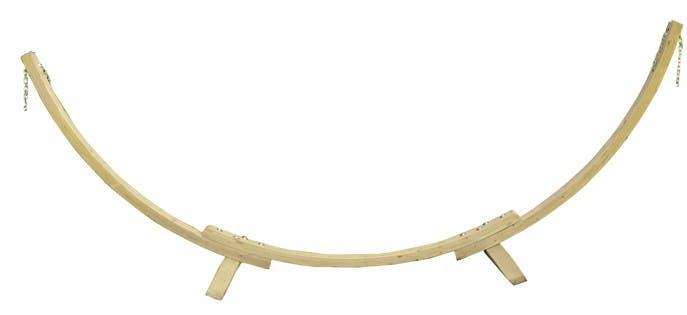 Support de hamac bois APOLLO 357x131x104cm AMAZONAS