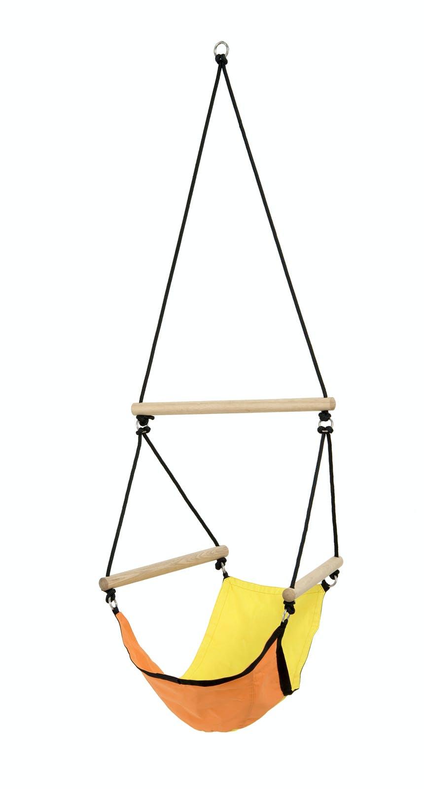 Hamac Fauteuil suspendu pour enfant Kids Swinger Yellow jaune S AMAZONAS