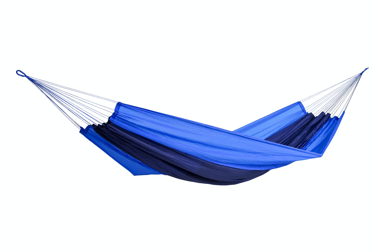 Hamac de jardin / voyage / randonnée en soie de parachute Silk Traveller Ocean Blue XL AMAZONAS