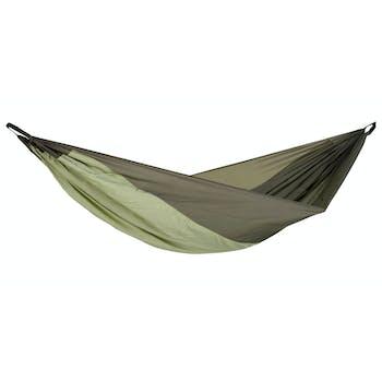 Hamac de jardin / voyage / randonnée en soie de parachute Silk Traveller Thermo XL AMAZONAS