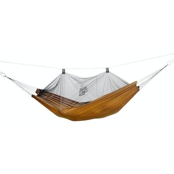 Hamac de jardin / voyage / randonnée Moustiquaire Moskito-Traveller Pro brique L AMAZONAS