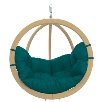 Fauteuil suspendu Globo Chair Vert 121x118x69cm AMAZONAS
