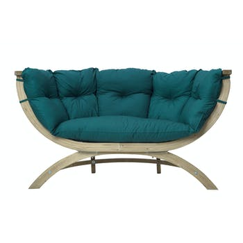 Canapé de jardin Siena Duo Vert 171x94x67cm AMAZONAS