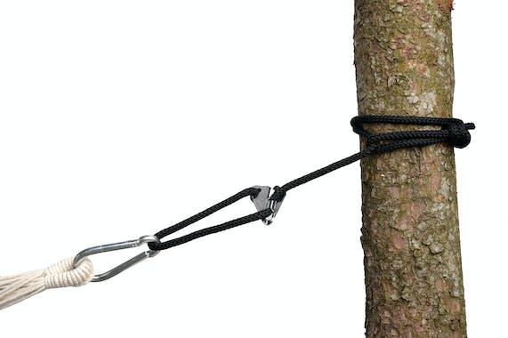 Corde de prolongation SMARTROPE Noir pour Hamac ou Fauteuil suspendu AMAZONAS