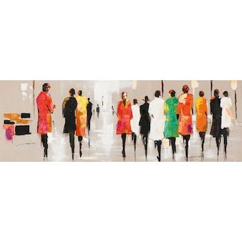 FEMMES Tableau Figuratif Multicolore Acrylique 150x50