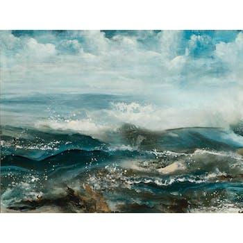 Tableau Marine laqué 90x120 Peinture acrylique
