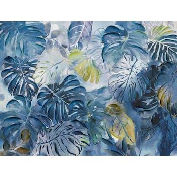 Tableau Feuillage laqué 90x120 Peinture acrylique