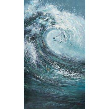 Tableau Marine 90x160. Peinture acrylique