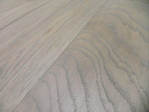 Table d'appoint Bout de Canapé chêne massif métal SOOMAA réf 30020861