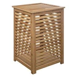 Panier à linge en bambou 40x40cm