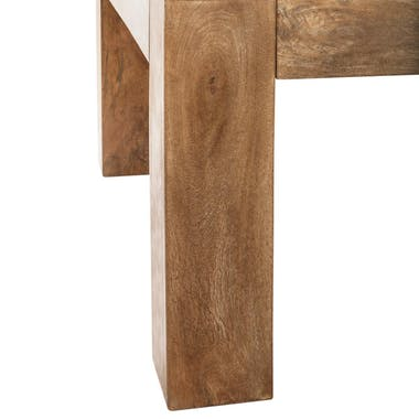 Table basse en manguier L130cm