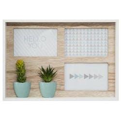 Pêle-mêle 3 vues cactus