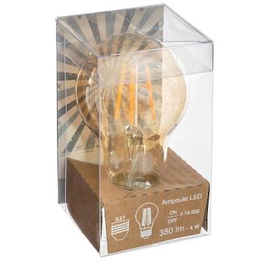 Ampoule LED vintage ambre