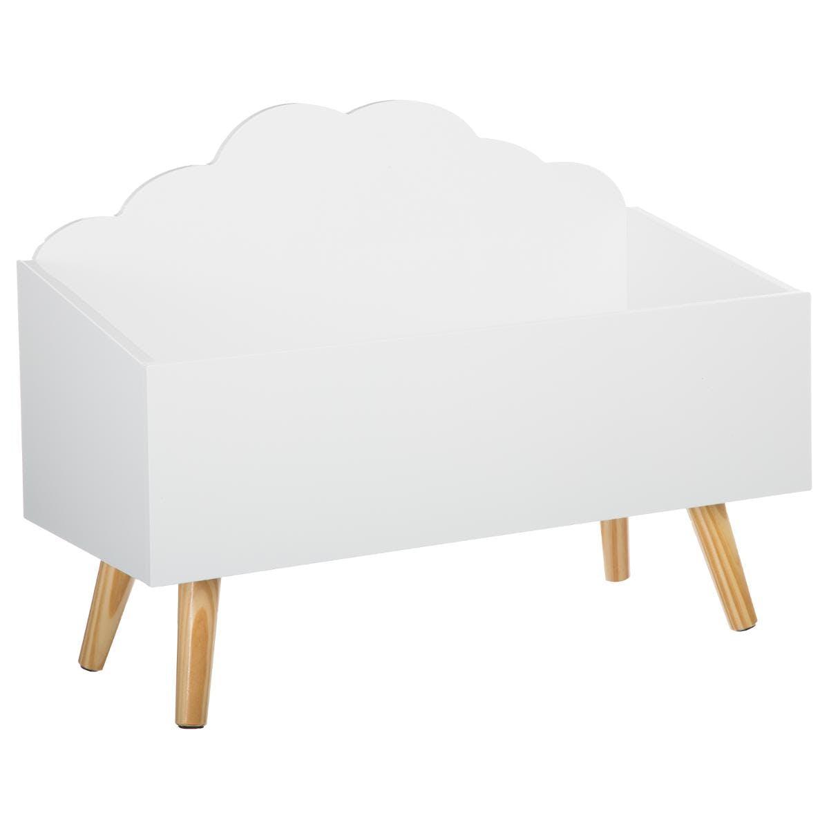 Coffre ouvert nuage blanc