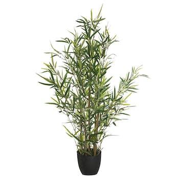 Bambou artificiel en pot 90cm