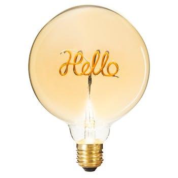 Ampoule boule Hello