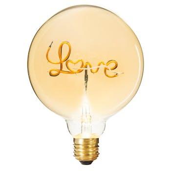 Ampoule boule Love