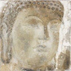 Toile Tête de bouddha 60x60cm