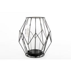 Lanterne fil metal 17x20cm
