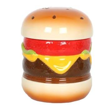 """Boite de rangement """"Burger"""" céramique 21x15cm"""