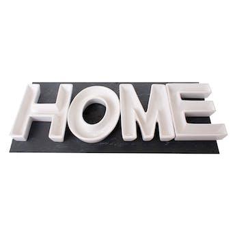 "Coupelles mot ""Home"" en dolomite 10x13cm"
