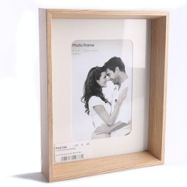 Cadre Photo en bois façon plateau 22x17cm