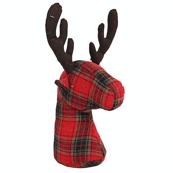 Bloc-porte renne motif écossais réf. 30021871