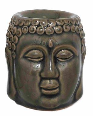 Brûle-parfum Bouddha gris
