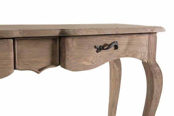 Console bois recyclé romantique BRUGES