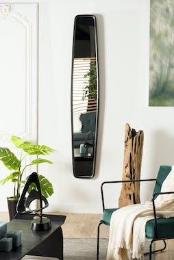 Miroir vertical noir ZALA