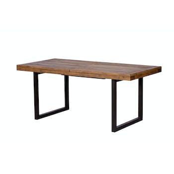Table Repas Extensible Bois recyclé 180/240x90x77cm BRISBANE