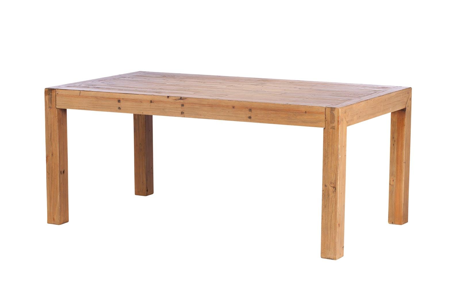 Table à manger bois recyclé 180 VANCOUVER