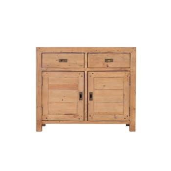 Buffet bois recyclé 2 portes 2 tiroirs VANCOUVER