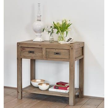 Meuble console bois recyclé VANCOUVER