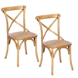 Chaise bistrot GASCOGNE 2 (lot de 2)