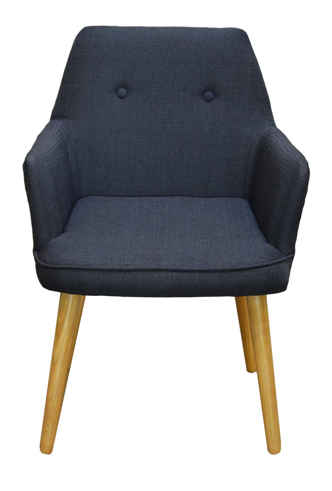 Fauteuil de table scandinave gris OSLO