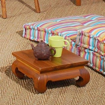 Mini table opium 30x30cm BISHO